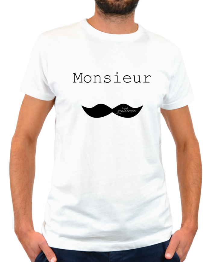 Monsieur moustache.