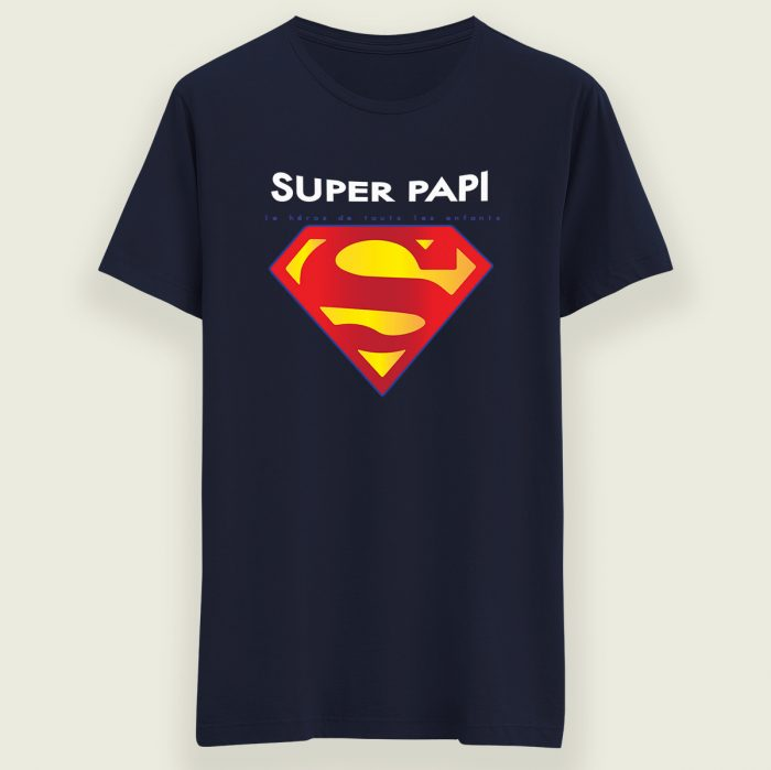 t-shirt papi superman